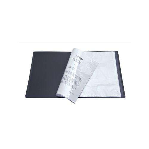 Sichtbuch schwarz mit 10 Hüllen