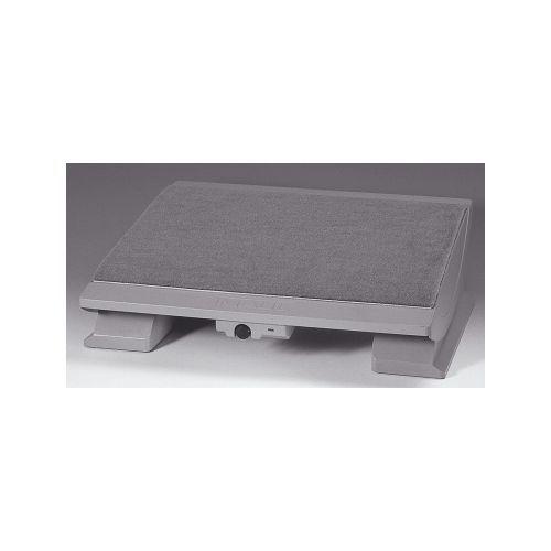 Teppichbelag  Fußstütze Kunststoff mit Teppichbelag und Heizung grau - Schwendy ...